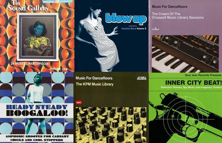 Library Music montage