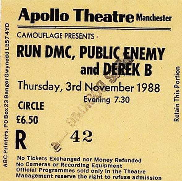 Ticket hip hop